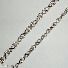Figure of 8 chain -- Free tutorial