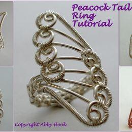 Peacock Tail Ring Tutorial