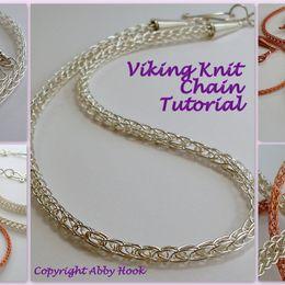 Viking Knit Chain Tutorial