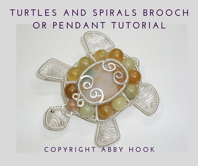 Turtles and Spirals Brooch or Pendant Tutorial
