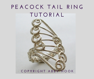 Peacock Tail Ring Tutorial