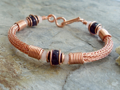 Torcesque - Copper and Amethyst