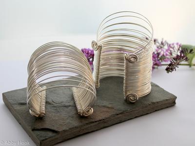 Multi strand Wrist cuffs