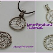 Love Pendants Tutorial