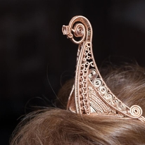 Viking Ship Headpiece