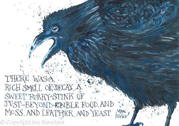 Max Porter Crow