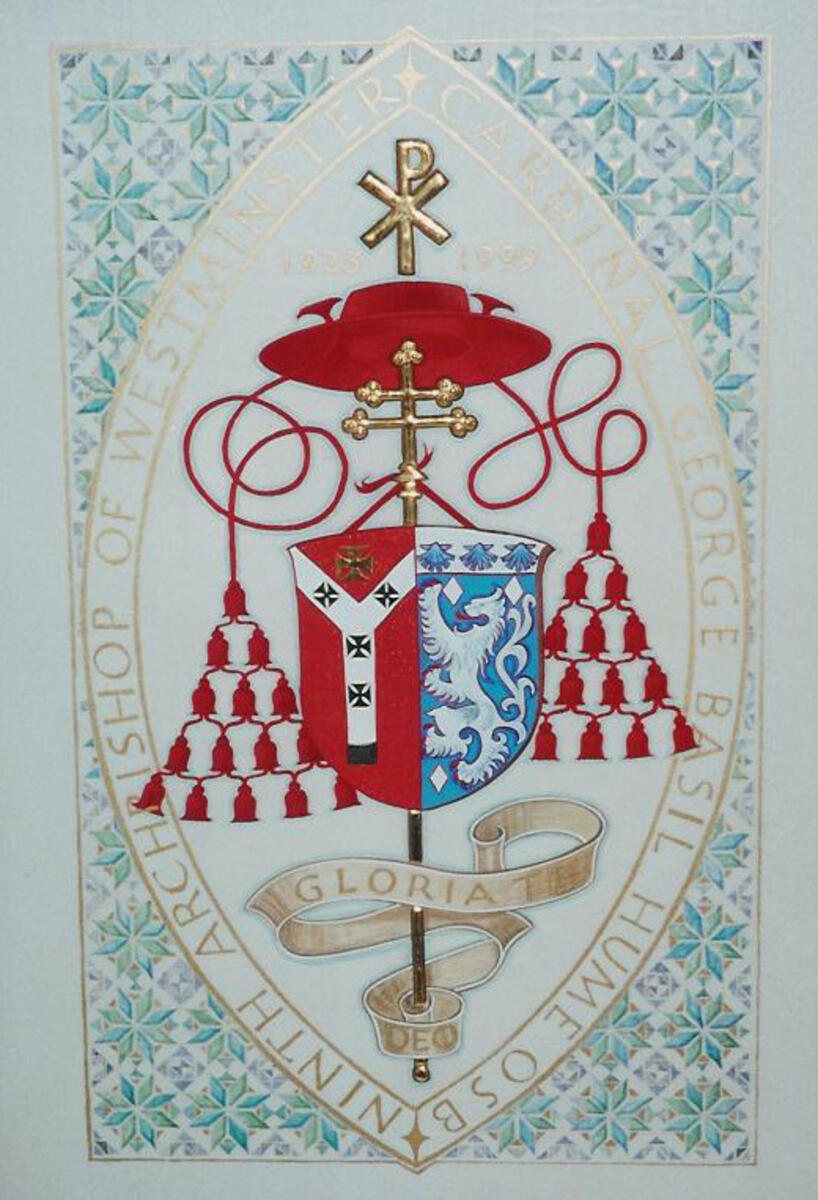 Cardinal Basil Hume Coat of Arms