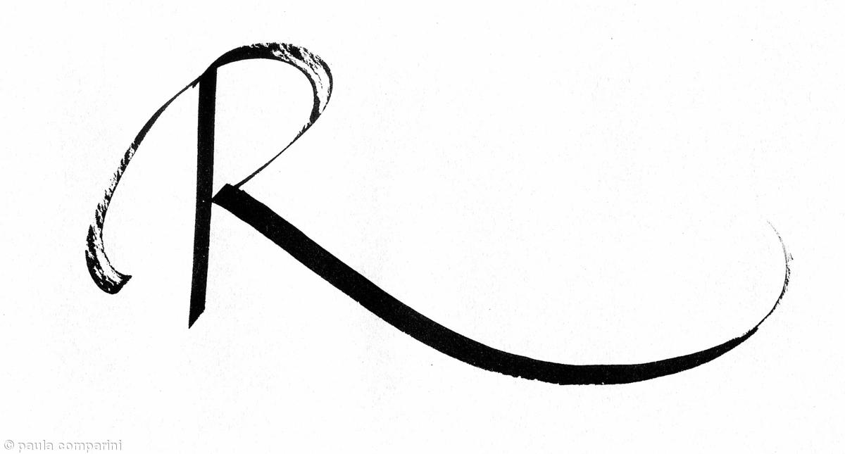 letter r variation