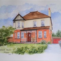 Detached House with Lavender