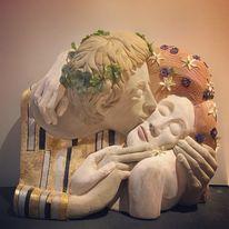 The Kiss - after Klimt