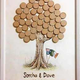 Sorcha & Dave's Wedding Guest Tree