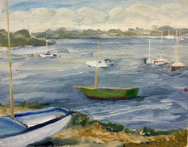Boats, Chichester harbour, Dorset