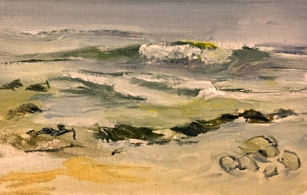 Incoming tide