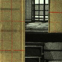 Takayama Interior 1 (Chine collé)