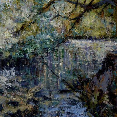 Sunlit river Borrowdale