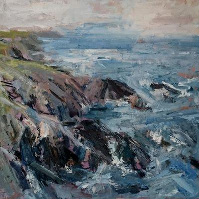 Cove near Porth Ysgaden, Llyn Peninsular