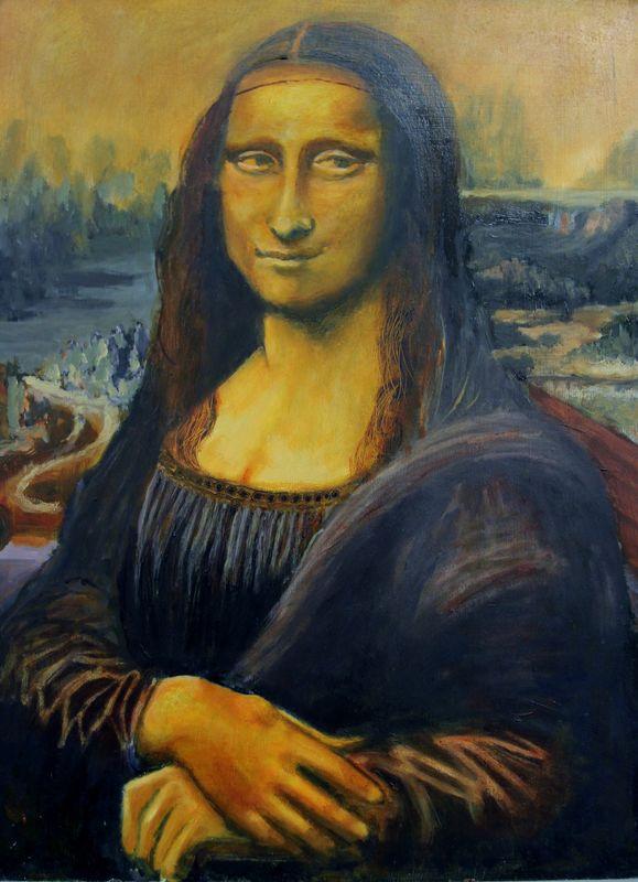Mona Lisa after Da Vinci