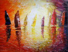 Sails in the Sun