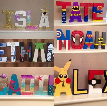 Children's themed letters