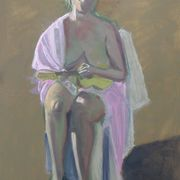 'Woman with Prop'