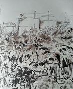 Brambles and gastanks sketch