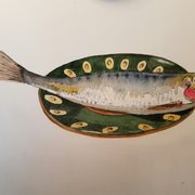 Sardine on a Russian  plate