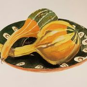Squashes on a Russian plate