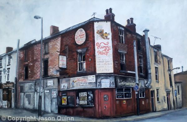 The Hungry Wolf, Infirmary road