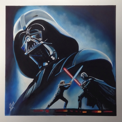 STAR WARS ART (Darth Vader)