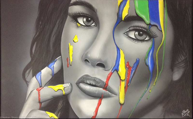 Nathan Sharp |hyper realistic art