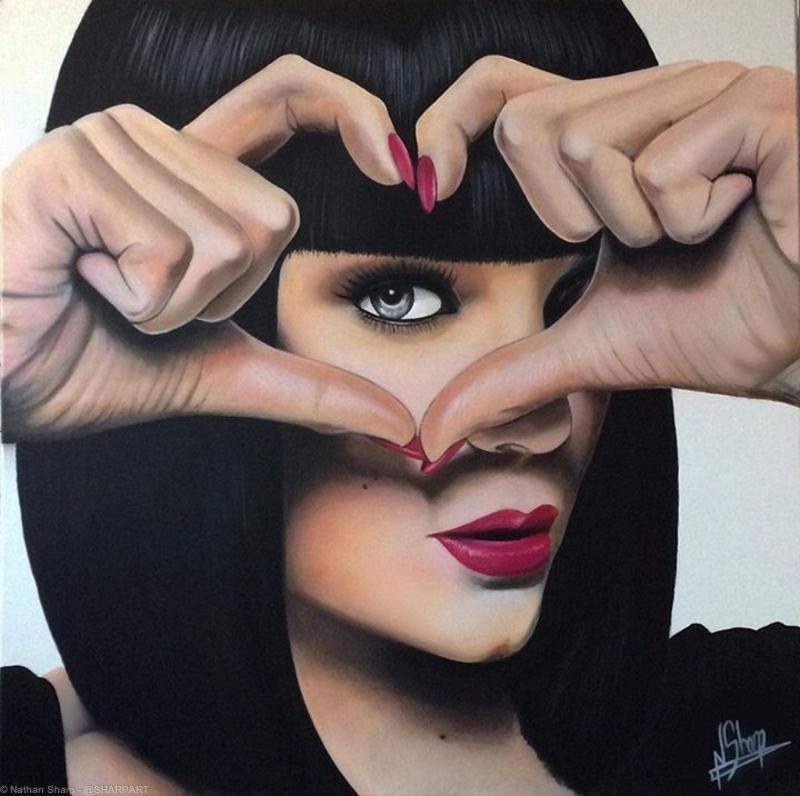 Jessie J Painting