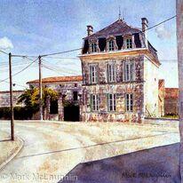 Town house, Ballans France