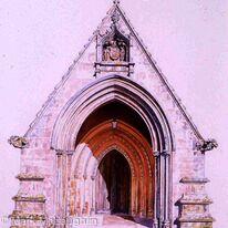 Chapel Entrance. Marlborough College