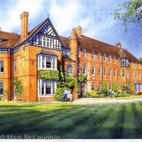 Benson House. Wellington College. Berkshire