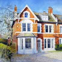 House portrait, Alleyn Park, West Dulwich