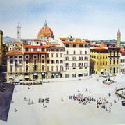 Piazza Del Signoria, Florence. Italy