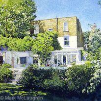 Garden view, Mervan Road Brixton SW2