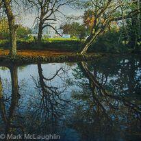Autumn Reflections. Belair Park West Dulwich
