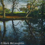 Autumn-reflections. Belair Park,West Dulwich