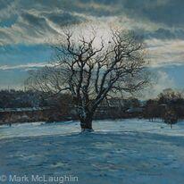 Winter Oak, Brockwell Park.