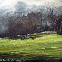 November morning, Brockwell park.