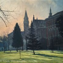 Morning Mist, Dulwich College.