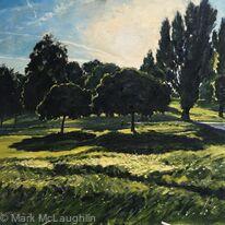 Summer evening, Brockwell Park