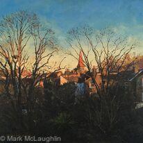 Evening light over East Dulwich