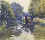 Canal Boat, Bath
