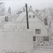 StIves Rooftops