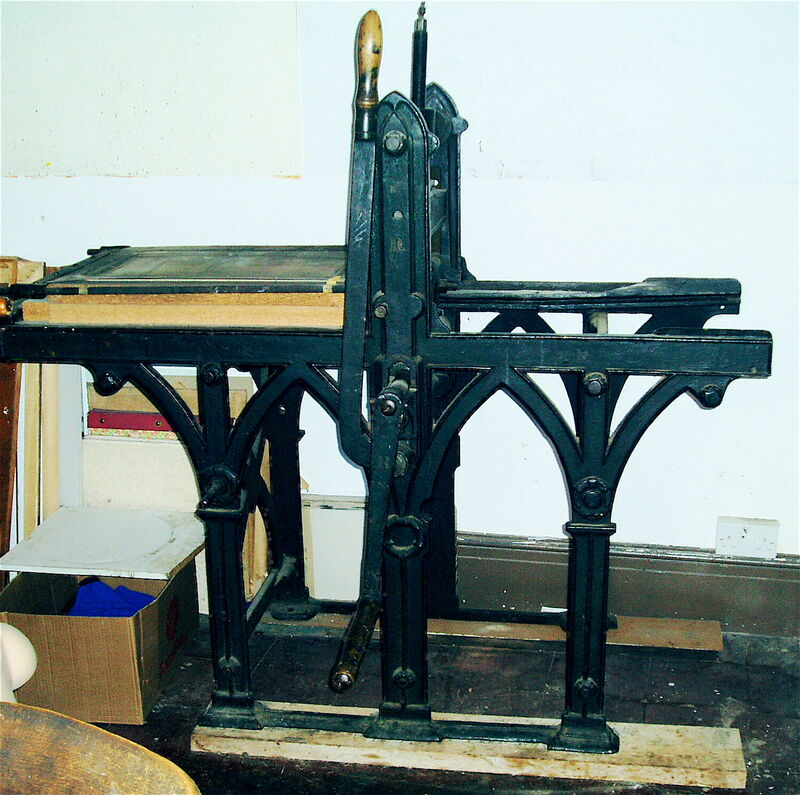 my direct litho press