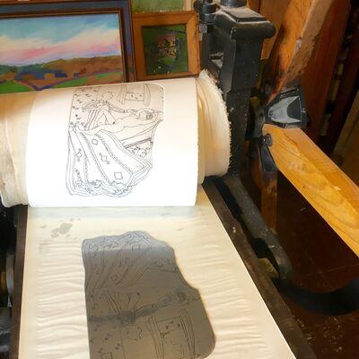 printing etchings