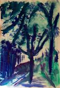 February Trees
