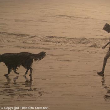Walk on the beach.